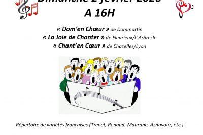 Chanter POUR ELLES